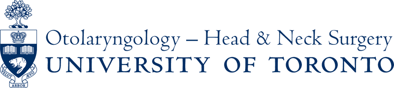 Department of Otolaryngology - University of Toronto